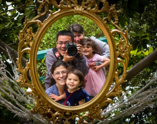 Fairyland Selfie With Family - Oakland, CA