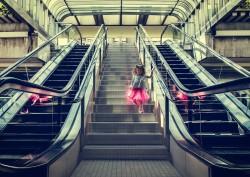 escalator website slider july 19 san francisco photography