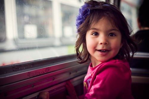 The Joy Of Public Transit - San Francisco, CA - family photography